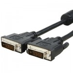 DVI 24+1P Male to DVI 24+1P Male Cable, Length: 3m
