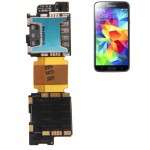 Tiroir de Carte SIM pour Samsung Galaxy S5 / G900 Câble flexible Flex Cable Socket Flex - Wewoo