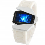 Fashion LED Digital Watch with Special Design Case (White)