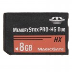 8GB Memory Stick Pro Duo HX Memory Card - 30MB PER Second High Speed, for Use with PlayStation Portable (100% Real Capacity)