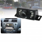 7 LED IR Infrared Waterproof Night Vision Wired Short Lens DVD Rear View, With Scaleplate , Support Installed in Car DVD Navigat