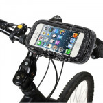 Bike Mount & Waterproof / Sand-proof / Snow-proof / Dirt-proof Tough Touch Case for iPhone 5 & 5s & SE, 5C, Touch 5