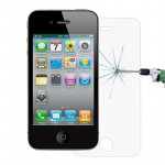 Verre trempé iPhone 4 4S 0.26mm 9H Surface Hardness 2.5D Explosion-proof Tempered Glass Screen Film for & - wewoo.fr