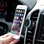 360 Degree Rotatable Universal Non Magnetic Nanometer Micro-suction Car Air Vent Phone Holder Stand for 3.5 - 5.5 inch Mobile Ph