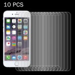 10 PCS For iPhone 7 Plus 0.26mm 9H Surface Hardness 2.5D Explosion-proof Tempered Glass Non-full Screen Film