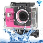 H16 1080P Portable WiFi Waterproof Sport Camera, 2.0 inch Screen, Generalplus 4248, 170 A+ Degrees Wide Angle Lens, Support TF