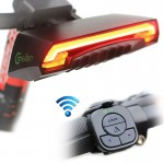 Meilan X5 Wireless Remote Control Laser Tail Lamp for Bicycle, Waterproof Level: IPX4