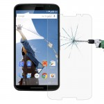 For Google Nexus 6 0.26mm 9H+ Surface Hardness 2.5D Explosion-proof Tempered Glass Film