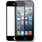 Tempered Glass Protective Film for iPhone 5 & 5S & 5C(Black)