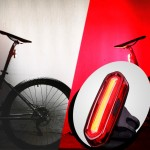AQY-096 IPX4 Detachable USB Rechargeable Dual Color LED Bike Taillight (White & Red)