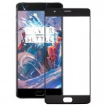 iPartsBuy OnePlus 3 Front Screen Outer Glass Lens(Black)