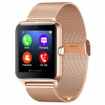 Z50 Smart Watch Phone, 1.54 inch IPS Touch Screen, Support SIM Card & TF Card, Bluetooth, GSM, 0.3MP Camera, Pedometer, Sedentar