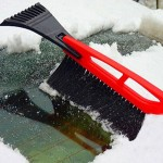 2 in 1 Car High-strength Snow Shovel with Snow Frost Broom Brush And Ice Scraper