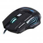 7 Buttons with Scroll Wheel 5000 DPI LED Wired Optical Gaming Mouse for Computer PC Laptop(Black)