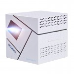 [HK Stock] DOOGEE Smart Cube P1 Mini WiFi Smart DLP Projector, Android 4.4, Amlogic Quad Core, 70 Lumen, Contrast Ratio: 800:1,