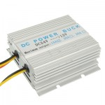 DC 24V to 12V Car Power Step-down Transformer, Rated Output Current: 15A