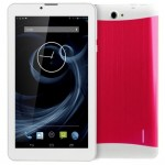 Tablette Tactile magenta 3G, Appel, 7 pouces, 512 Mo + 4 Go, Android 4.4, MTK8312 Dual Core, 1.3GHz, double SIM, GPS - Wewoo