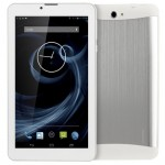 3G Phone Call Tablet PC, 7 inch, 512MB+4GB, Android 4.4, MTK8312 Dual Core, 1.3GHz, Dual SIM, GPS(White)