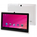 Tablet PC, 7.0 inch, 512MB+8GB, Android 4.0, Allwinner A33 Quad Core 1.5GHz(White)