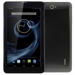 3G Phone Call Tablet PC, 7 inch, 512MB+4GB, Android 4.4, MTK8312 Dual Core, 1.3GHz, Dual SIM, GPS(Black)