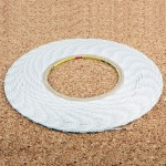 10mm 3M Double Sided Adhesive Sticker Tape for iPhone / Samsung / HTC Mobile Phone Touch Screen Repair, Length: 50m (White)