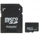 16GB High Speed Class 4 Micro SD(TF) Memory Card from Taiwan, Write: 8mb/s, Read: 12mb/s (100% Real Capacity)(Black)