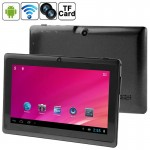 7.0 inch Tablet PC, 512MB+8GB, Android 4.0 360 Degree Menu Rotate, CPU: Allwinner A33 Quad Core, 1.5GHz(Black)