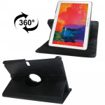 360 Degree Rotatable Litchi Texture Leather Case with 2-angle Viewing Holder for Samsung Galaxy Tab Pro 10.1 / T520(Black)