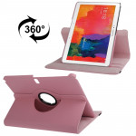 360 Degree Rotatable Litchi Texture Leather Case with 2-angle Viewing Holder for Samsung Galaxy Tab Pro 10.1 / T520 (Pink)