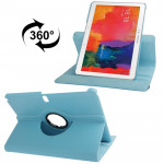 360 Degree Rotatable Litchi Texture Leather Case with 2-angle Viewing Holder for Samsung Galaxy Tab Pro 10.1 / T520(Baby Blue)