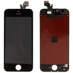 iPartsBuy 3 in 1 for iPhone 5 (Original LCD + LCD Frame + Touch Pad) Digitizer Assembly(Black)