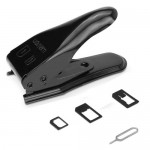 Dual Nano Sim Cutter for iPhone 5 / iPhone 4S & 4 (With Nano SIM to Micro SIM Card Adapter + Nano SIM to Standard SIM Card Adapt