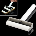 6cm Manual Dust Remove Silicone Roller for iPhone 5 & 5C & 5S / Samsung Galaxy S IV mini / i9190 / i9192(White)