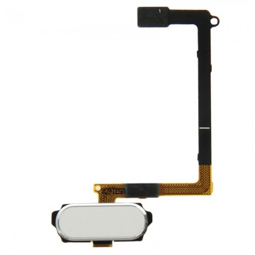 iPartsBuy Home Button Flex Cable with Fingerprint Identification for  Samsung Galaxy S6 / G920F(White)