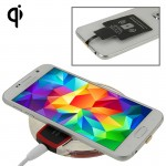 FANTASY Wireless Charger & Wireless Charging Receiver for Samsung Galaxy Note Edge / N915V / N915P / N915T / N915A(Black)