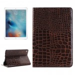 Crocodile Texture Horizontal Flip Leather Case with Holder & Card Slots & Wallet for iPad Pro 12.9 inch(Brown)