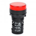 Lde signal AD16-22D / S 22mm LED Indicateur Rouge - wewoo.fr
