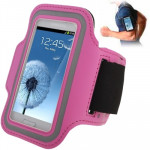 Sports Armband Case with Earphone Hole for Samsung Galaxy SIII mini/ i8190 , Galaxy Trend Duos / S7562 (Pink)