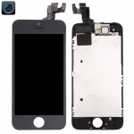 iPartsBuy 4 in 1 for iPhone 5s (Front Camera + LCD + Frame + Touch Pad) Digitizer Assembly(Black)