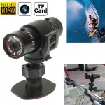 F9 Full HD 1080P Action Helmet Camera / Sports Camera / Bicycle Camera, Support TF Card, 120 Degree Wide Angle Lens