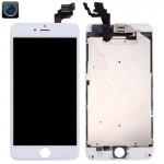 iPartsBuy 4 in 1 for iPhone 6 Plus (Front Camera + LCD + Frame + Touch Pad) Digitizer Assembly(White)