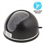 3.6mm CMOS Lens Waterproof Color Dome CCD Video Camera