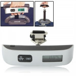 Mini Handheld Luggage Electronic scales with Zero and Tare(Black)