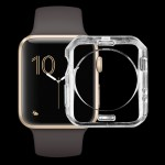 Boitier Coque Transparent pour Apple Watch Series 2 42mm Soft TPU Housse de protection - Wewoo