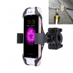 360 Degree Rotation Bicycle Phone Holder with Flexible Stretching Clip for iPhone 7 & 7 Plus / iPhone 6 & 6 Plus / iPhone 5 & 5C