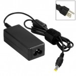 US Plug AC Adapter 19V 3.42A 65W for Acer Laptop, Output Tips: 5.5x1.7mm