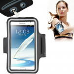 Universal PU Sports Armband Case with Earphone Hole for Samsung Galaxy Note 5 / 4 / Note III / II / S6 EDGE PLUS, Sony Z2 / Z1(B