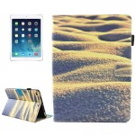For iPad 9.7 inch 2017 / iPad Air / iPad Air 2 Universal Desert Pattern Horizontal Flip Leather Protective Case with Holder & Ca