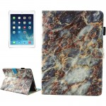For iPad mini 4 / mini 3 / mini 2 / mini Universal Colorful Marble Pattern Horizontal Flip Leather Protective Case with Holder &