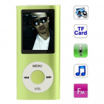 1.8 inch TFT Screen Metal MP4 Player with TF Card Slot, Support Recorder, FM Radio, E-Book and Calendar (Green)